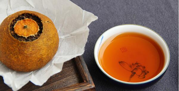 穿梭于时光中的柑普茶