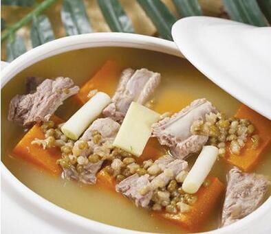 陈皮南瓜排骨汤 保护你的胃