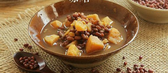 红豆陈皮番薯汤